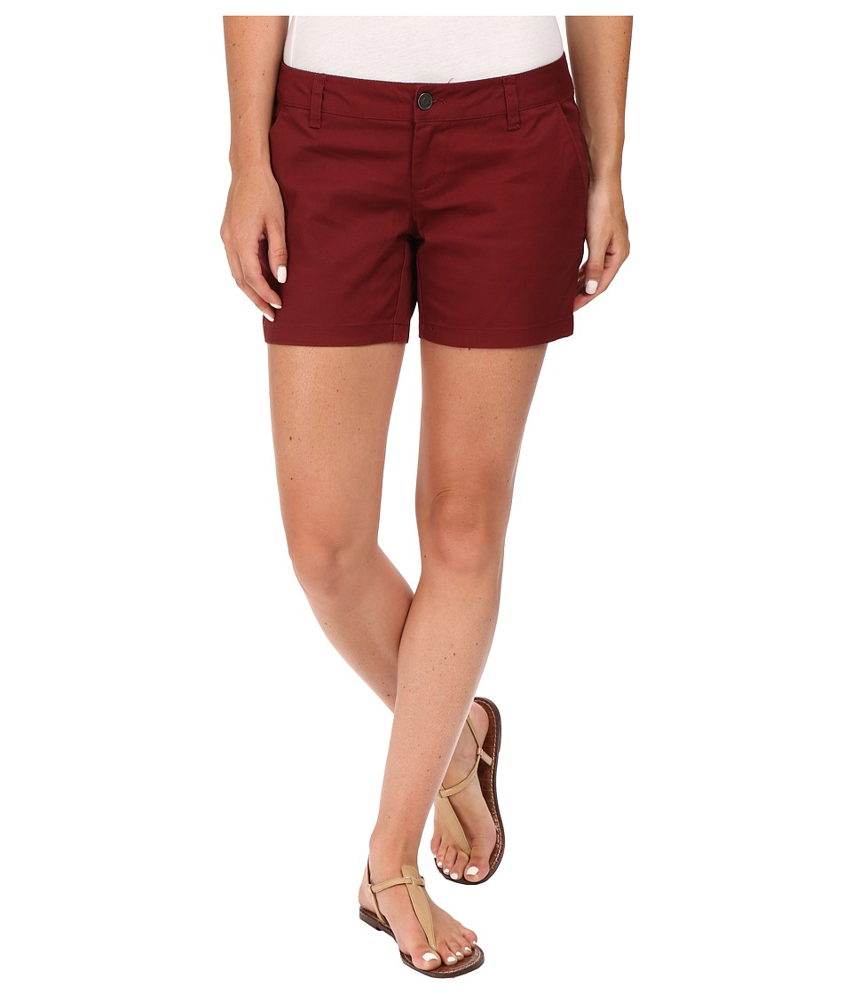 Volcom - Frochickie 5 Shorts (Crimson) Women's Shorts