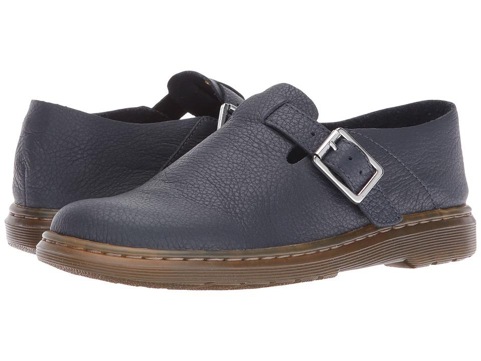 Dr. Martens - Patricia II Buckle Shoe (Dress Blues Virginia) Women's Shoes