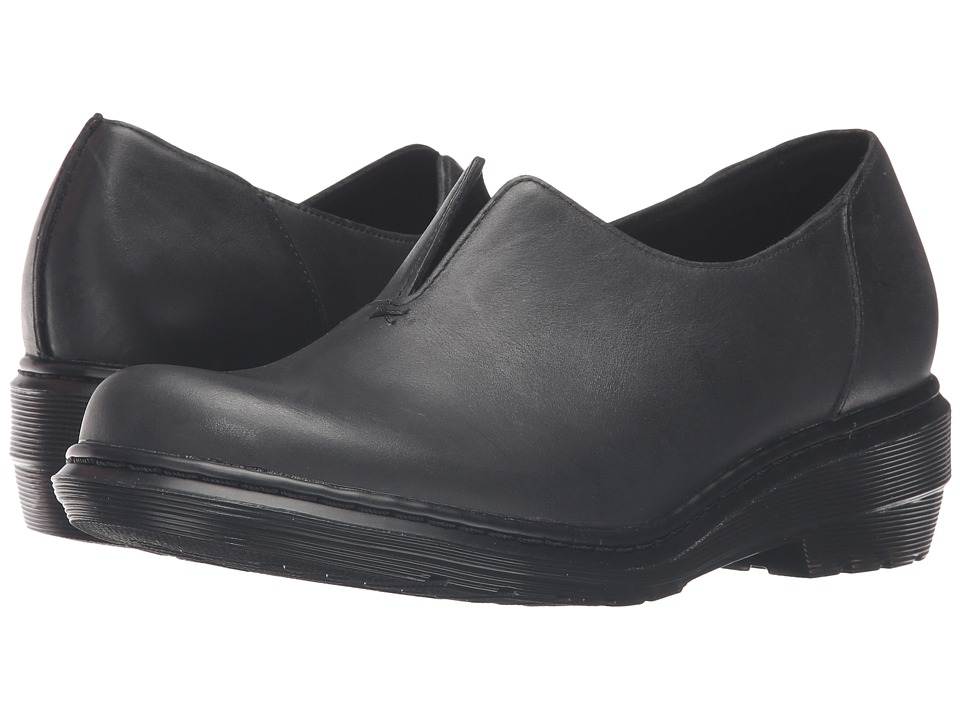 Dr. Martens Annalina Slip-On Shoe (Black Oily Illusion) Women