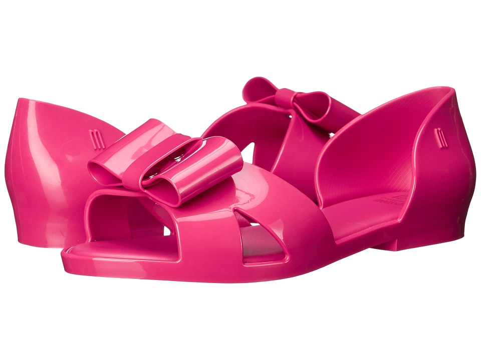 Mini Melissa - Mel Seduction (Little Kid/Big Kid) (Fuchsia) Girl's Shoes