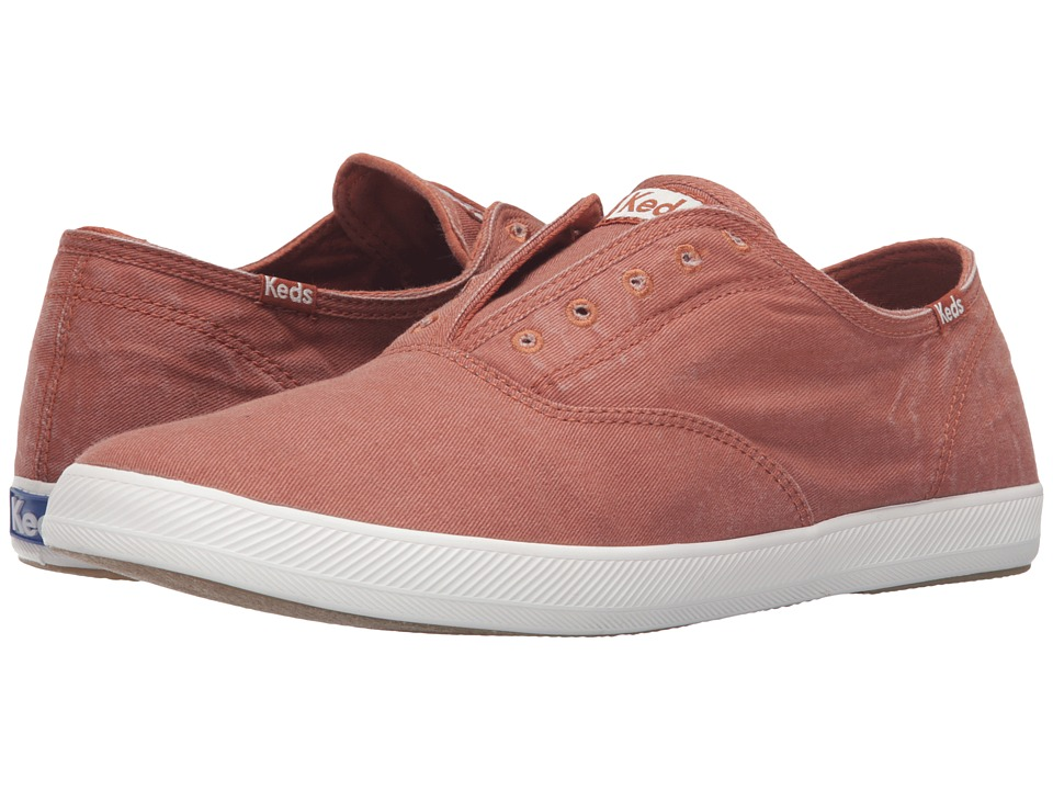 Keds Champion Chillax Washed Twill (Auburn) Men