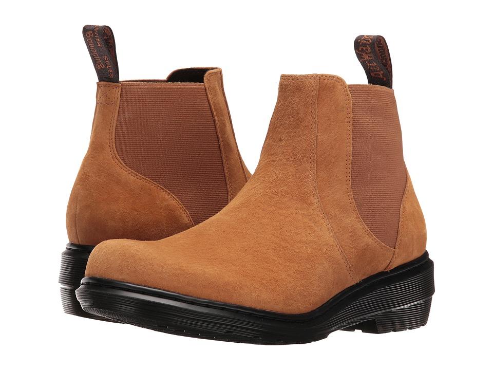 Dr. Martens - Pamela Chelsea Boot (Tan Soft Buck) Women's Boots