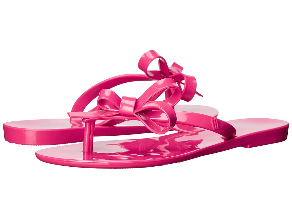 Mini Melissa - Mel Harmonic II (Little Kid) (Fuchsia) Girl's Shoes