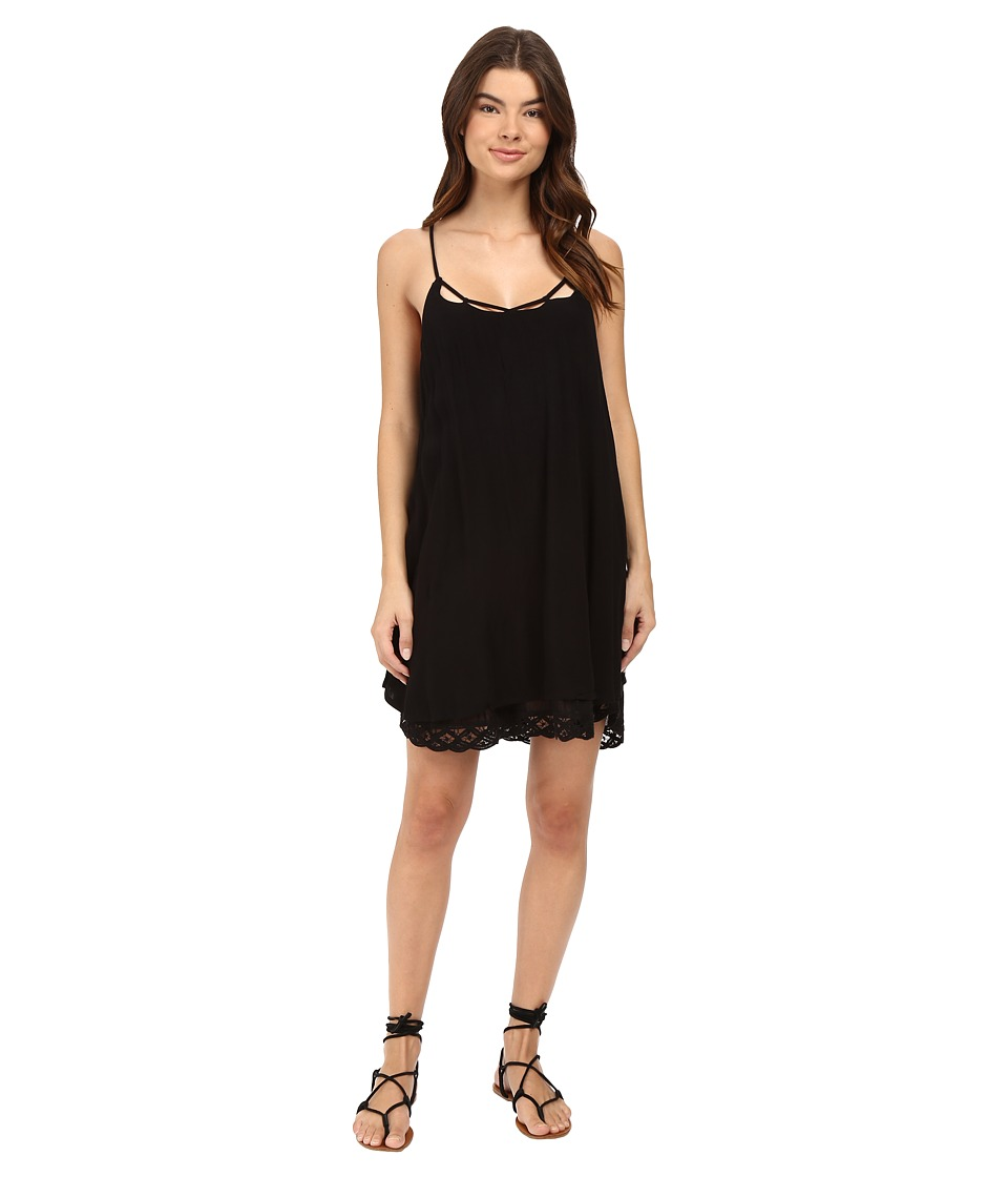Volcom - Dreamt It Dress (Black) Women's Dress