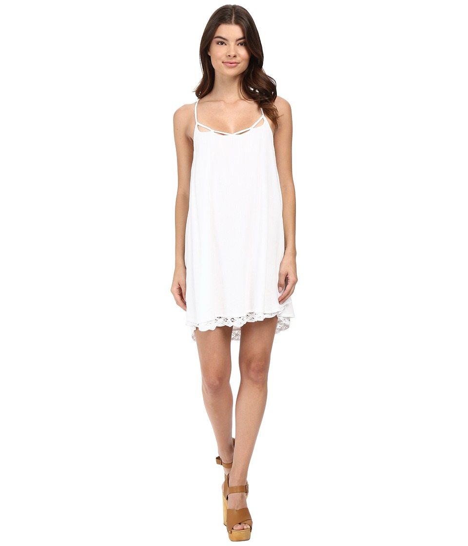 Volcom - Dreamt It Dress (White) Women's Dress
