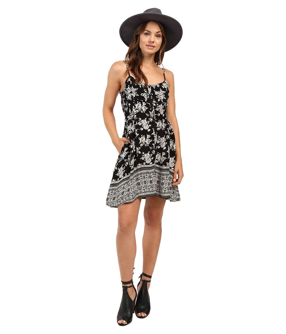 Volcom - West Coast Dress (Black Combo) Women's Dress