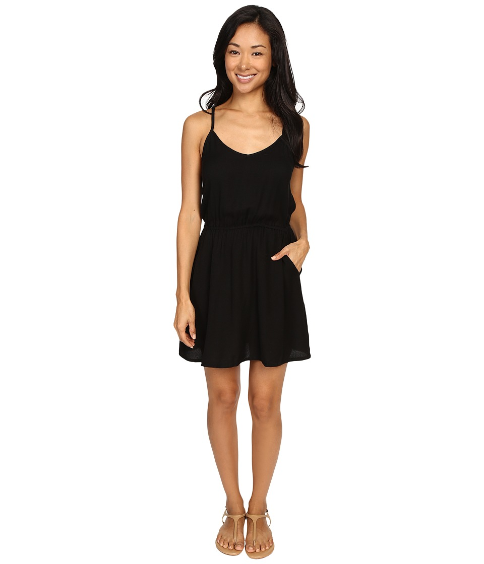 Volcom - Saturn Day Dress (Black) Women's Dress