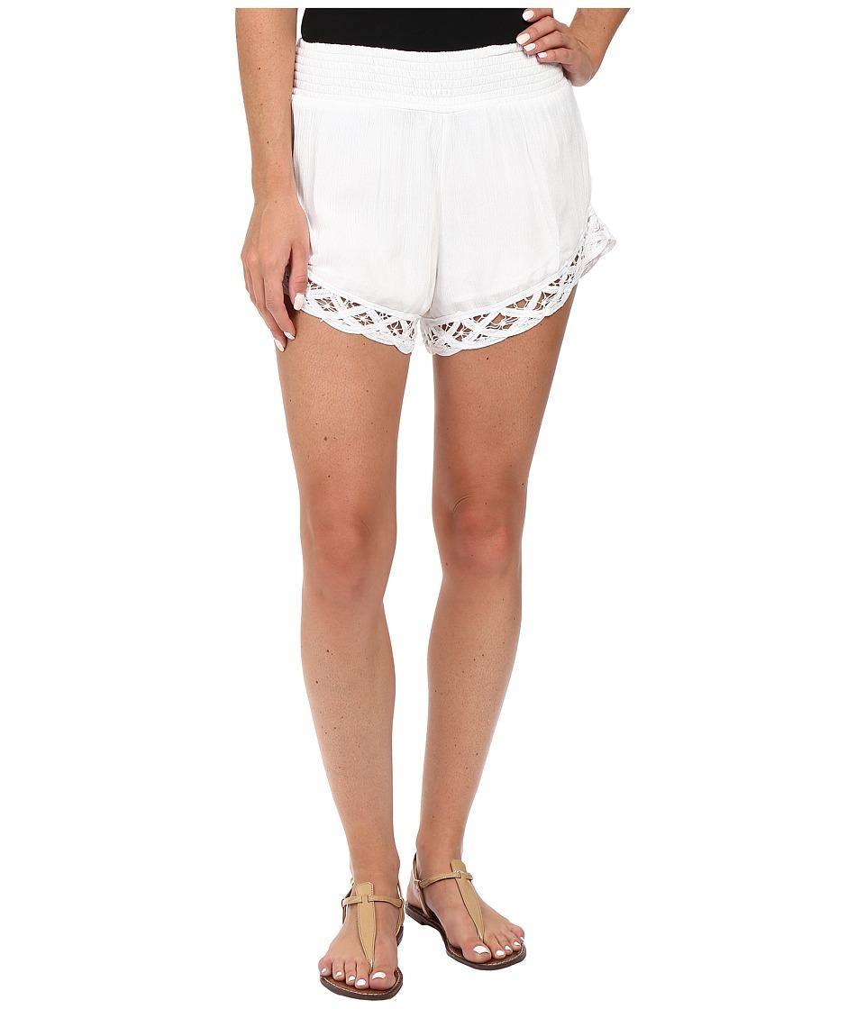 Volcom - Dreamt It Shorts (White) Women's Shorts