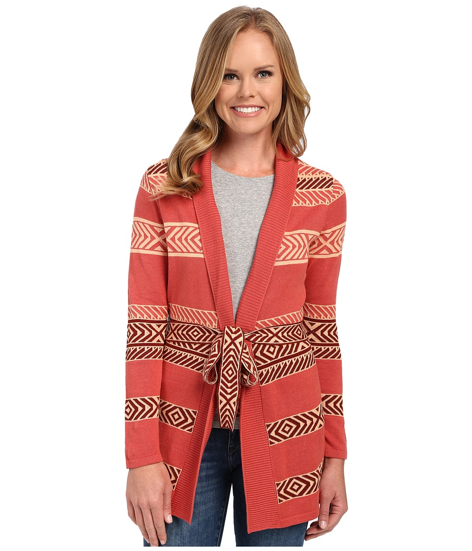 Pendleton - Sunset Stripe Cardigan (Mesa Rose Multi) Women's Sweater