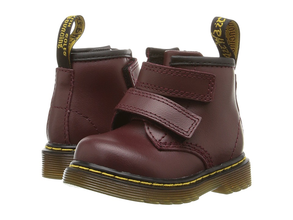 Dr. Martens Kid's Collection - Brooklee BV (Toddler) (Cherry) Kids Shoes