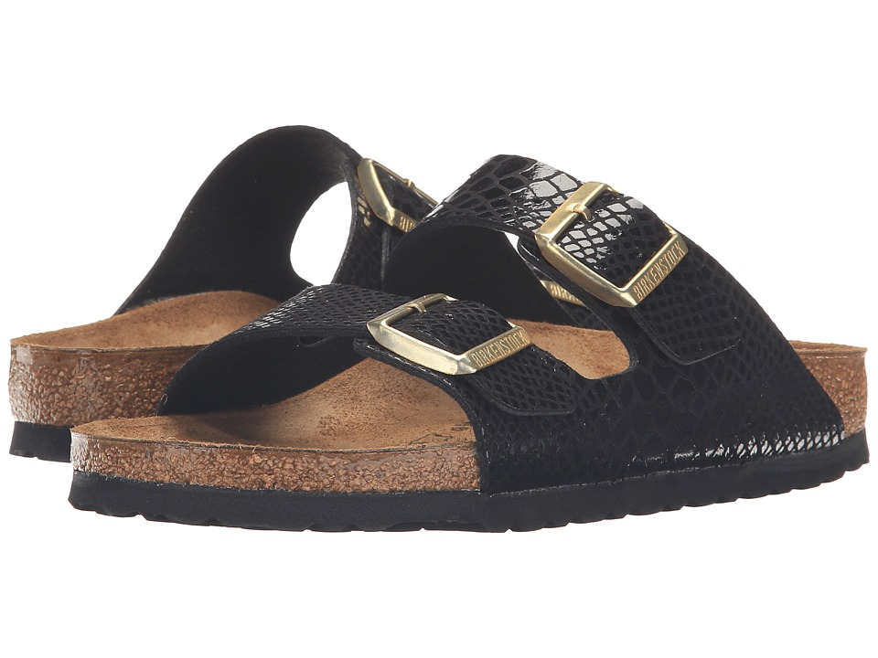 Birkenstock - Arizona (Shiny Snake Black) Women's Sandals