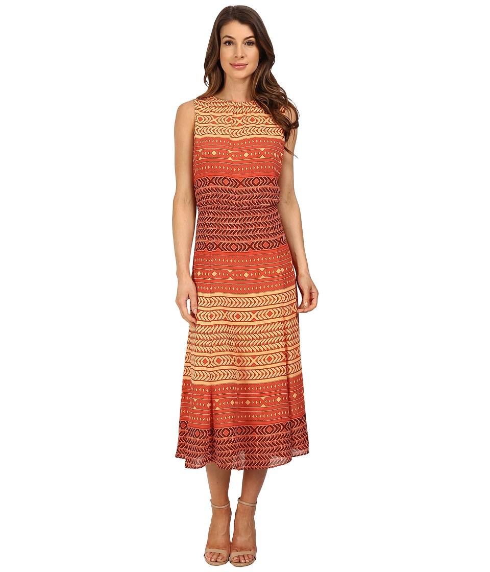 Pendleton - Boardwalk Print Dress (Ethnic Stripe Print) Women's Dress