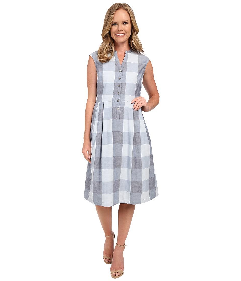 Pendleton Malena Dress (Blue Large Check) Women