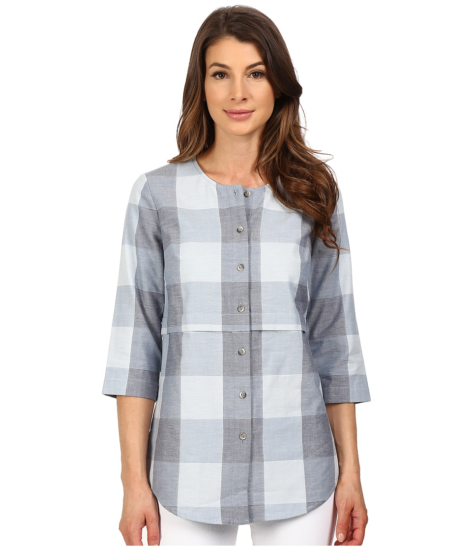 Pendleton - Malena Shirt (Blue Large Check) Women's Blouse