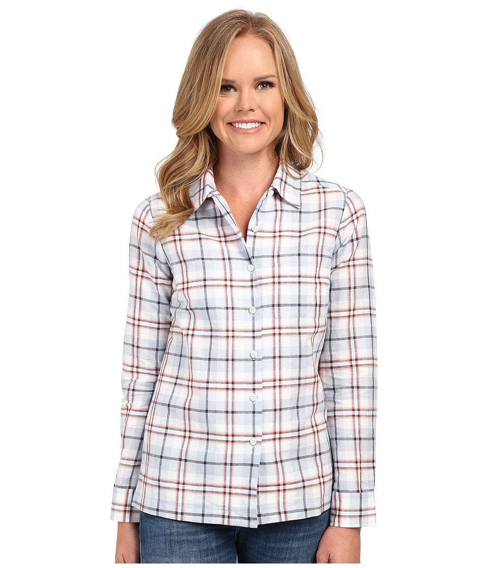 Pendleton - Maggie Shirt (White Multi Plaid) Women's Clothing