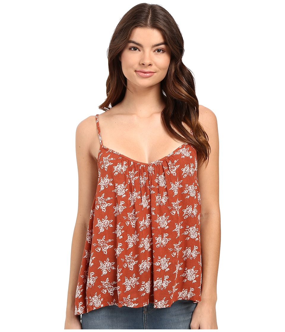 Volcom - Escape Artist Cami (Auburn) Women's Sleeveless