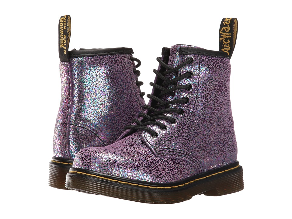 Dr. Martens Kid's Collection - Brooklee (Toddler) (Purple Sparkle) Girls Shoes