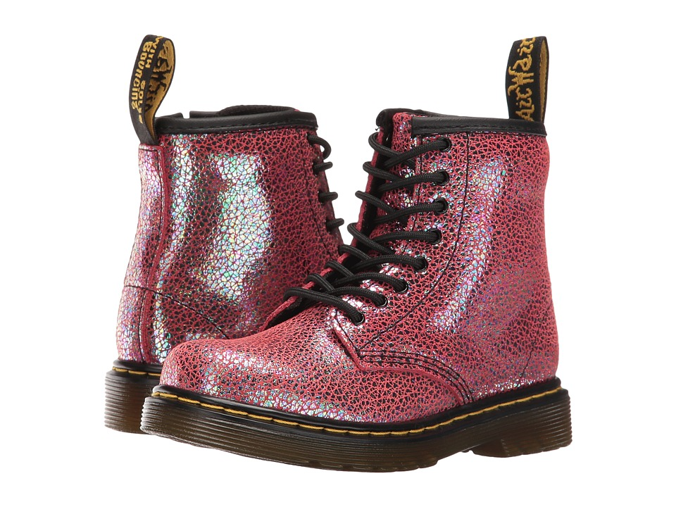 Dr. Martens Kid's Collection - Brooklee (Toddler) (Pink Sparkle) Girls Shoes