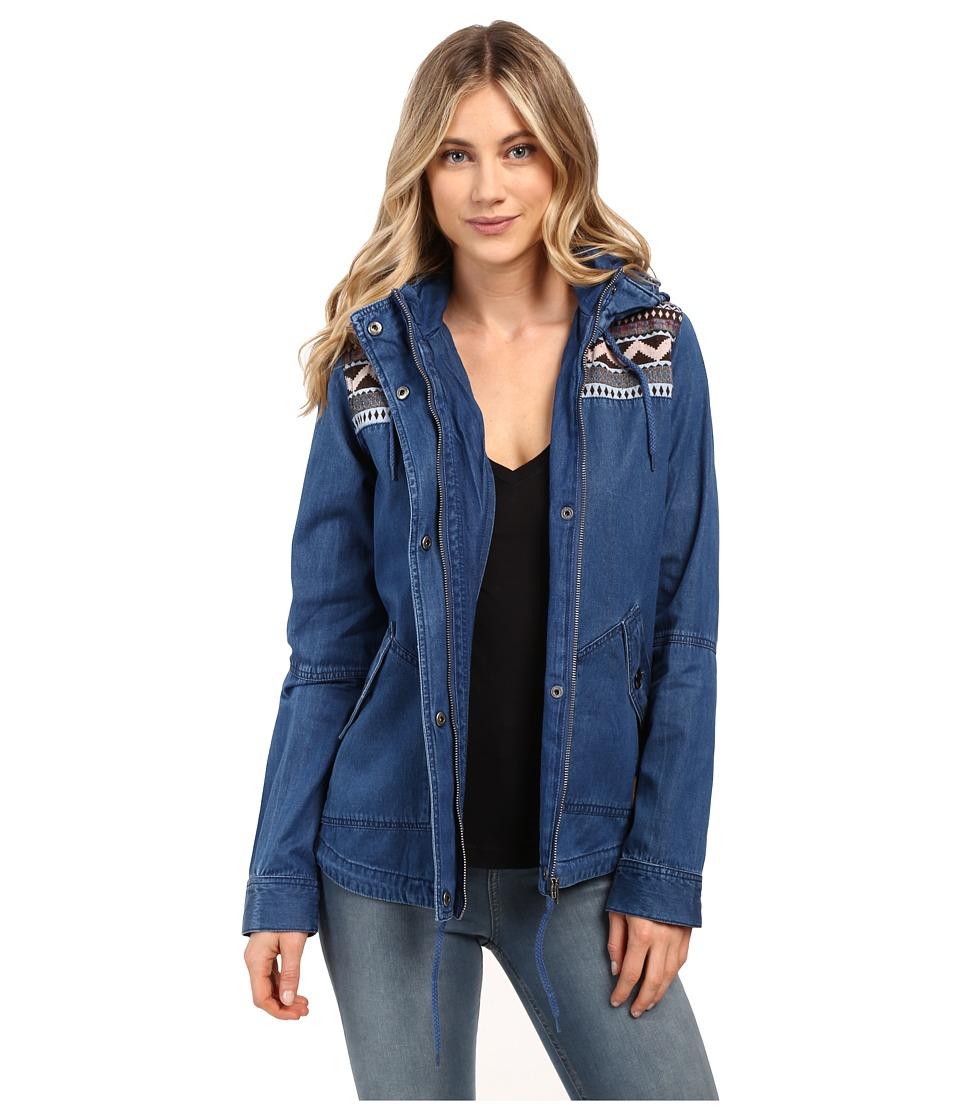Roxy - Winter Cloud Jacket (Denim Blue Wash) Women