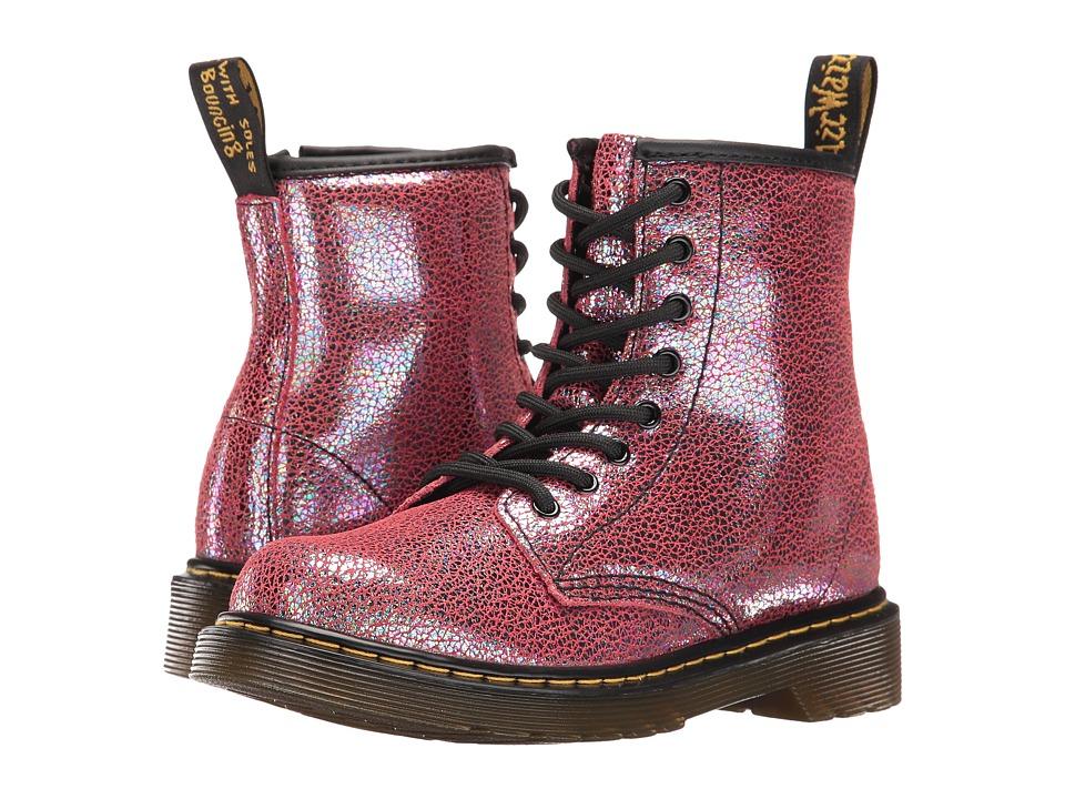 Dr. Martens Kid's Collection - Delaney (Little Kid/Big Kid) (Pink Sparkle) Girls Shoes