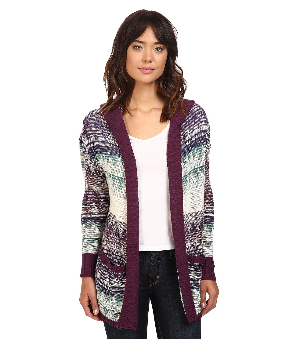 Roxy - Solstice Sweater (Sangria Forever Ombre Stripe) Women's Sweater