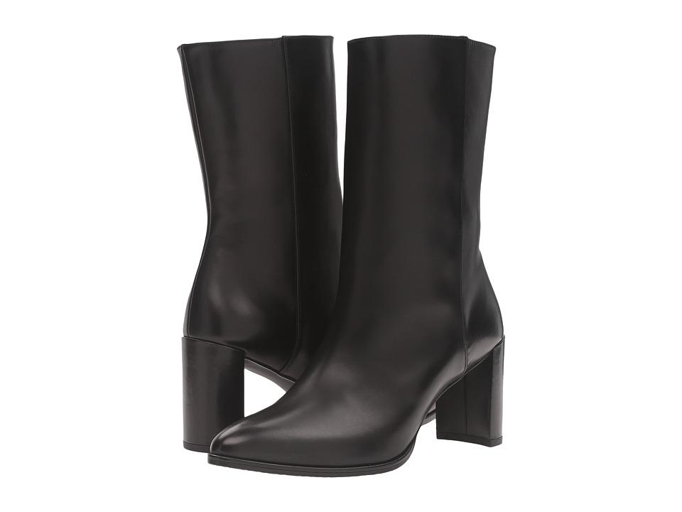 Stuart Weitzman Justso Black Calf 1 Womens Boots