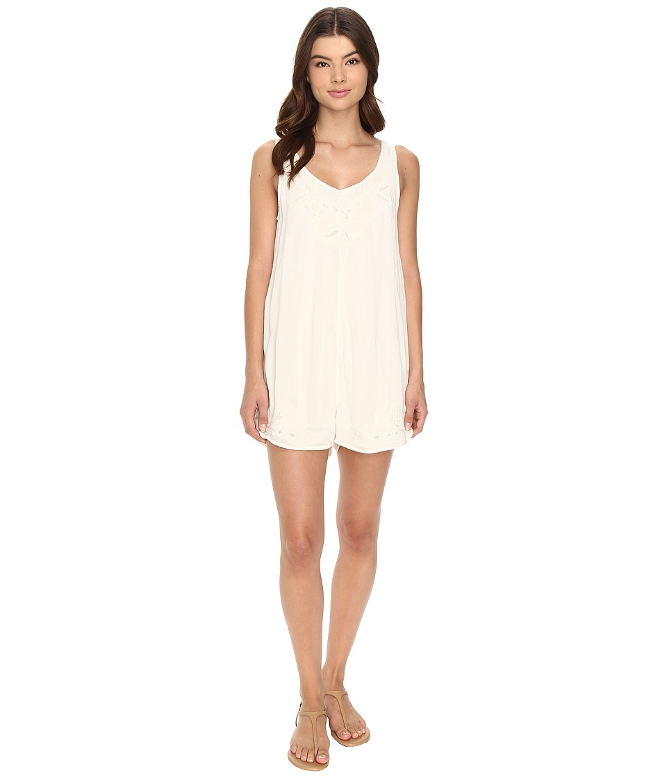 Volcom - Short Fuse Romper (Vintage White) Women's Jumpsuit & Rompers One Piece