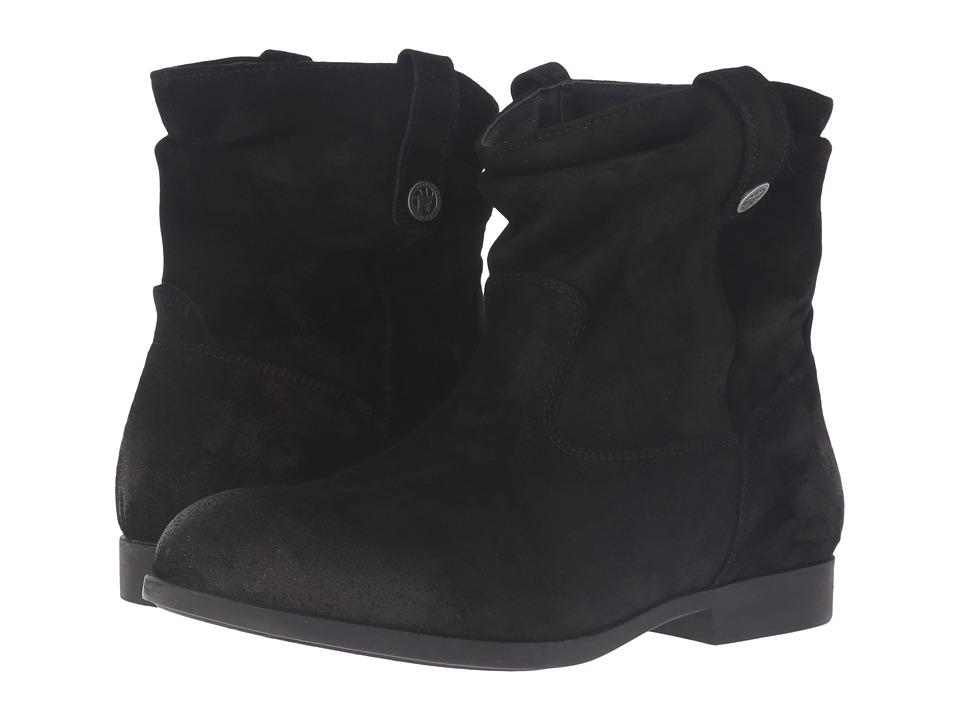 Birkenstock - Sarnia (Black Waxed Suede) Women's Boots