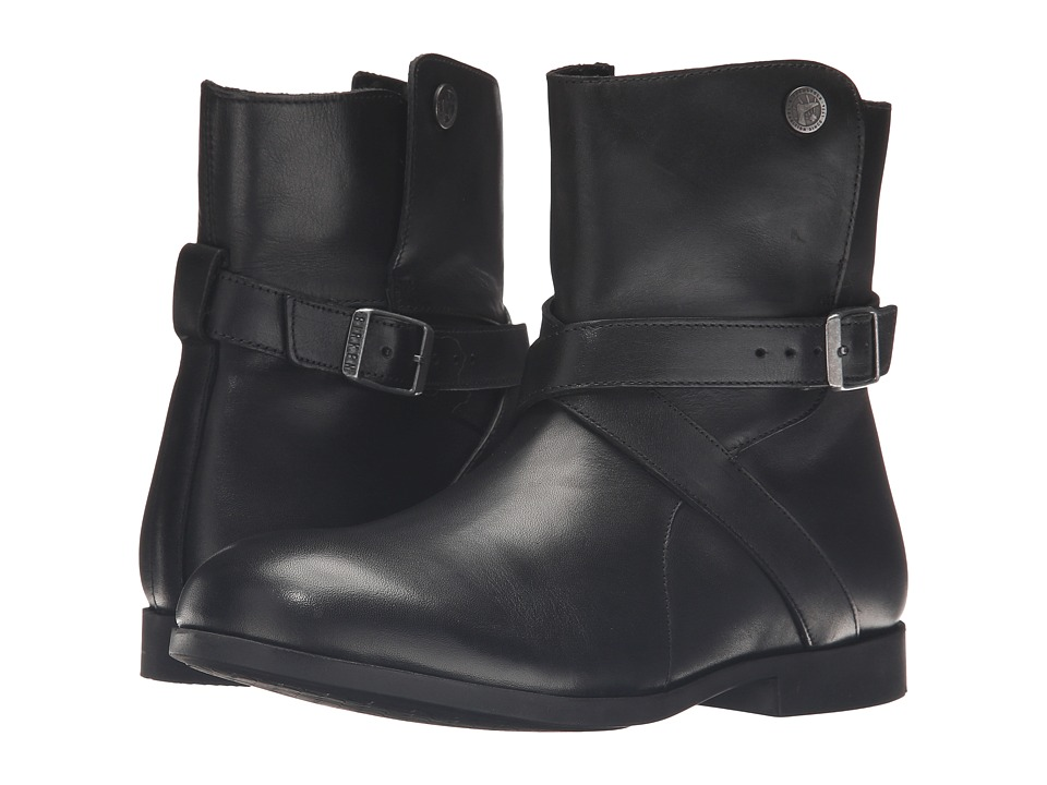 Birkenstock - Collins (Black Leather) Women's Boots
