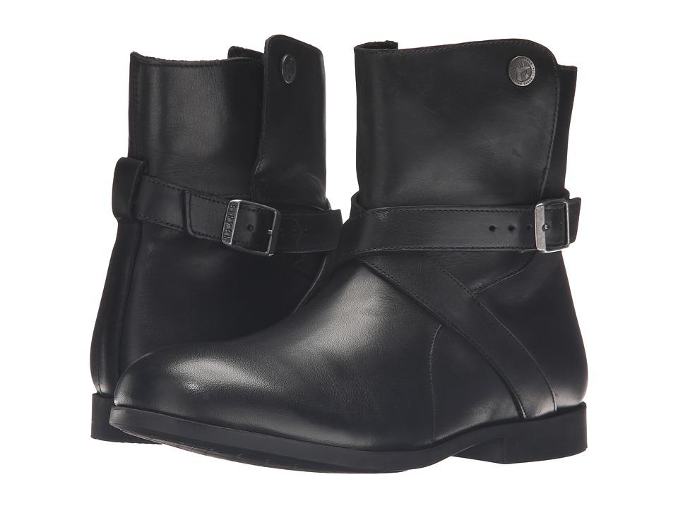 Birkenstock - Collins (Black Leather) Women's Boots