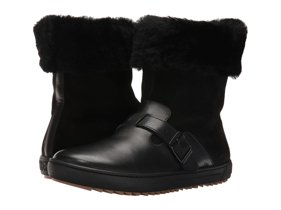 Birkenstock - Stirling (Black Leather) Women's Boots