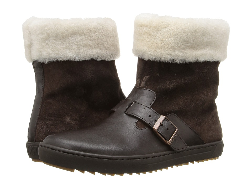 Birkenstock - Stirling (Brown Leather) Women's Boots