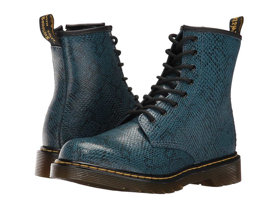 Dr. Martens Kid's Collection - Delaney Boots (Big Kid) (Lake Blue) Kids Shoes