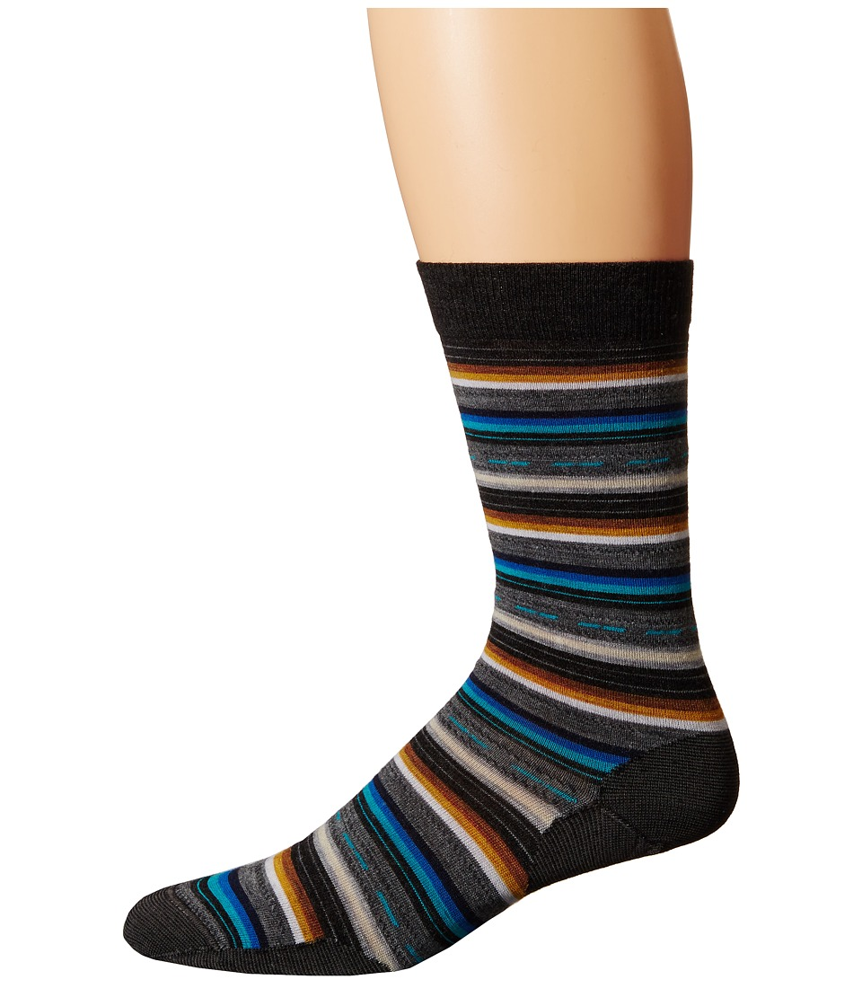 Smartwool - Margarita (Charcoal Stripe) Men's Crew Cut Socks Shoes