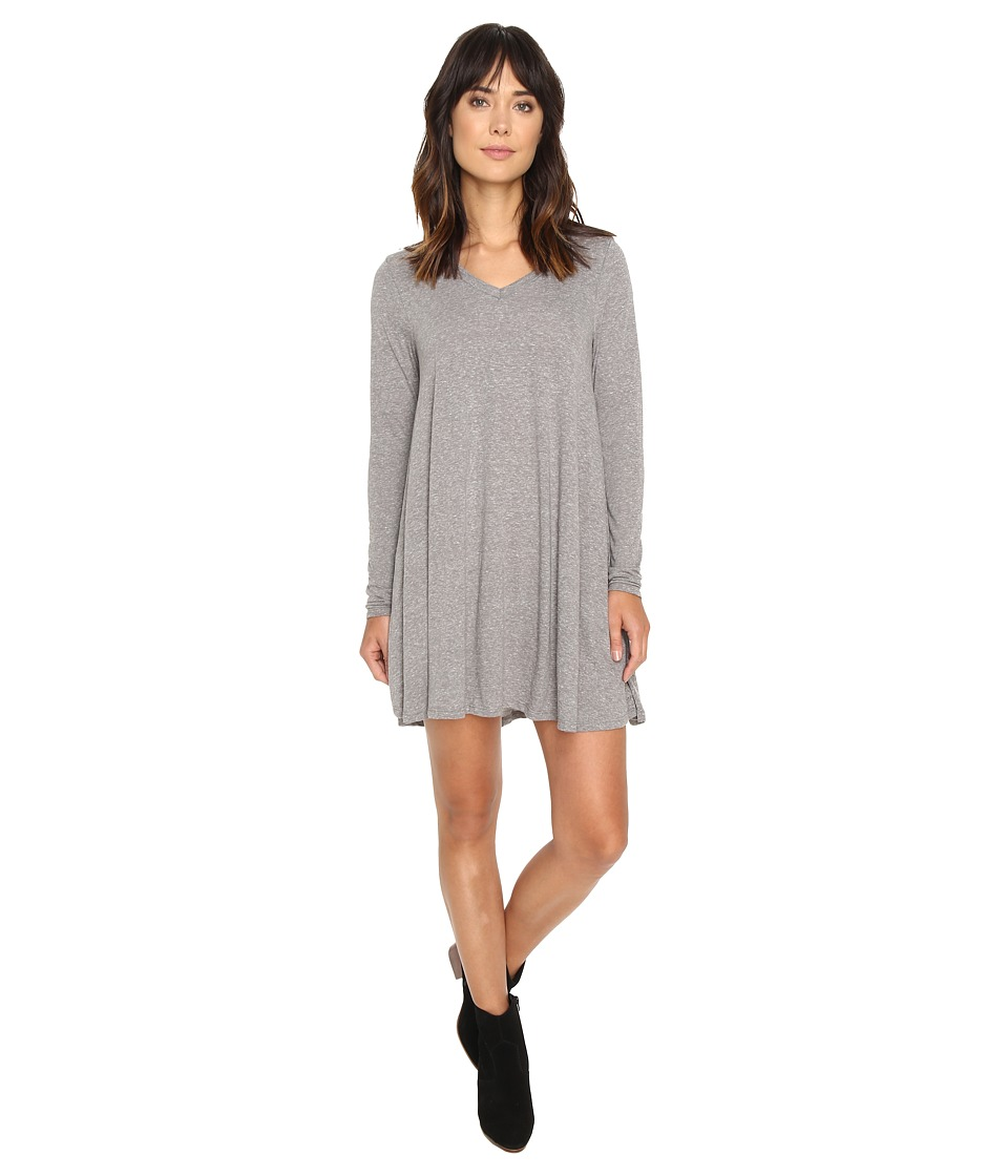 Volcom - Lived In Snow Dress (Heather Grey) Women's Dress
