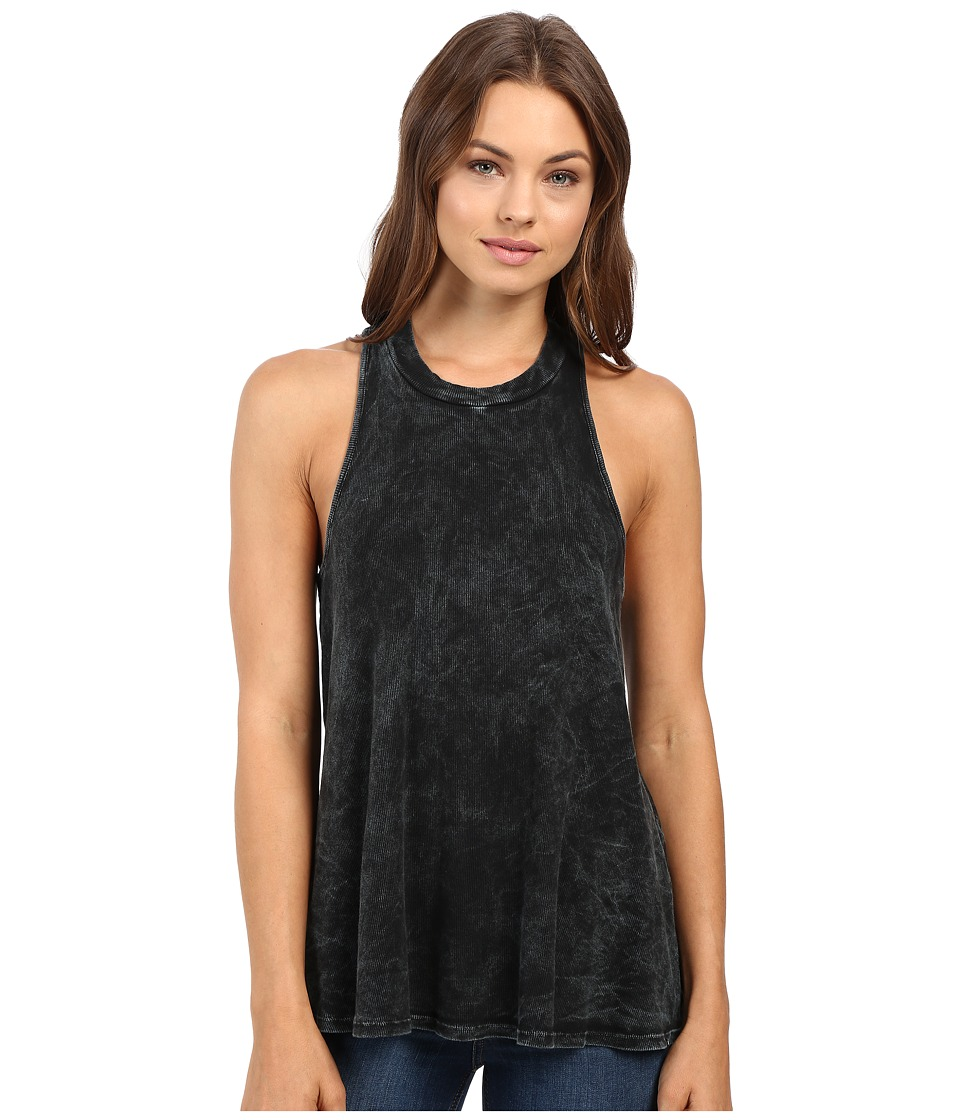 Volcom - Lived In Rib Tank Top (Black) Women's Dress