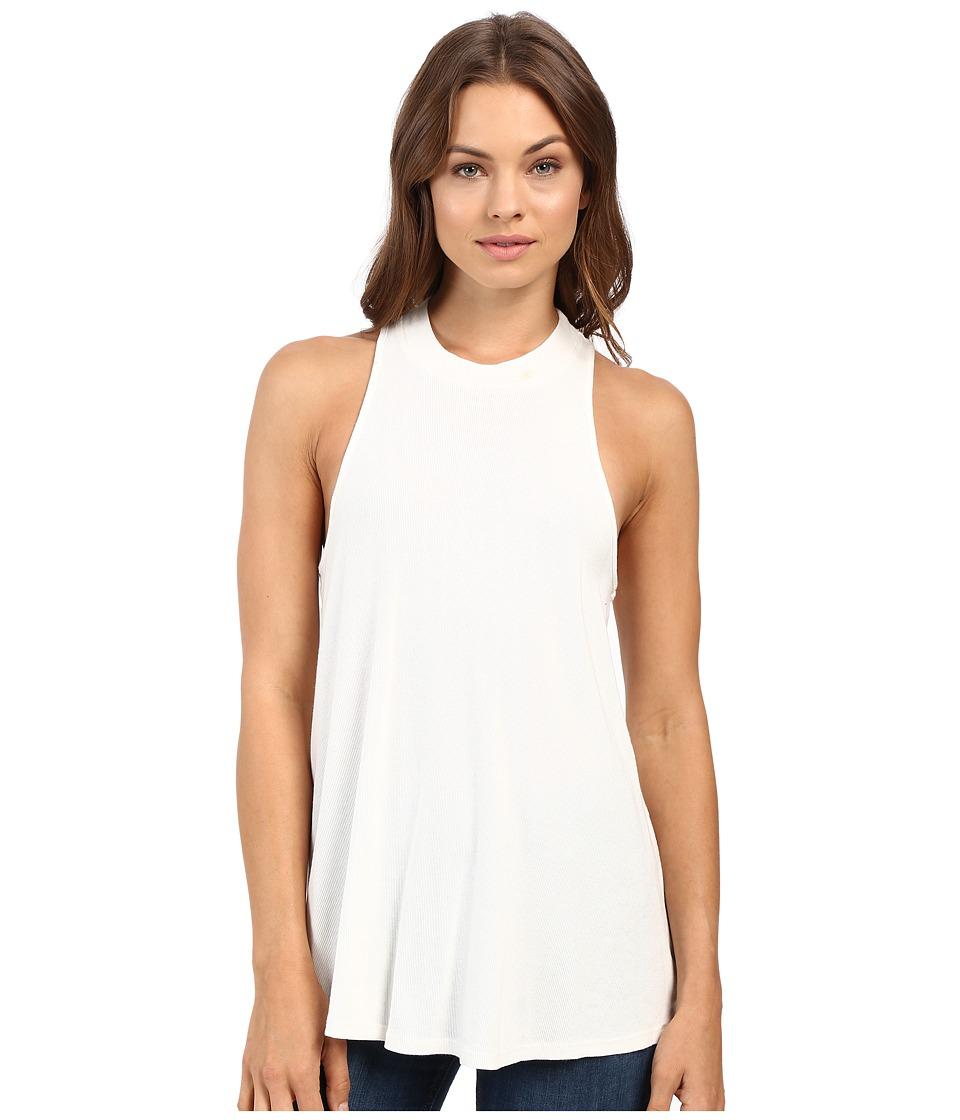 Volcom - Lived In Rib Tank Top (Vintage White) Women's Dress plus size,  plus size fashion plus size appare