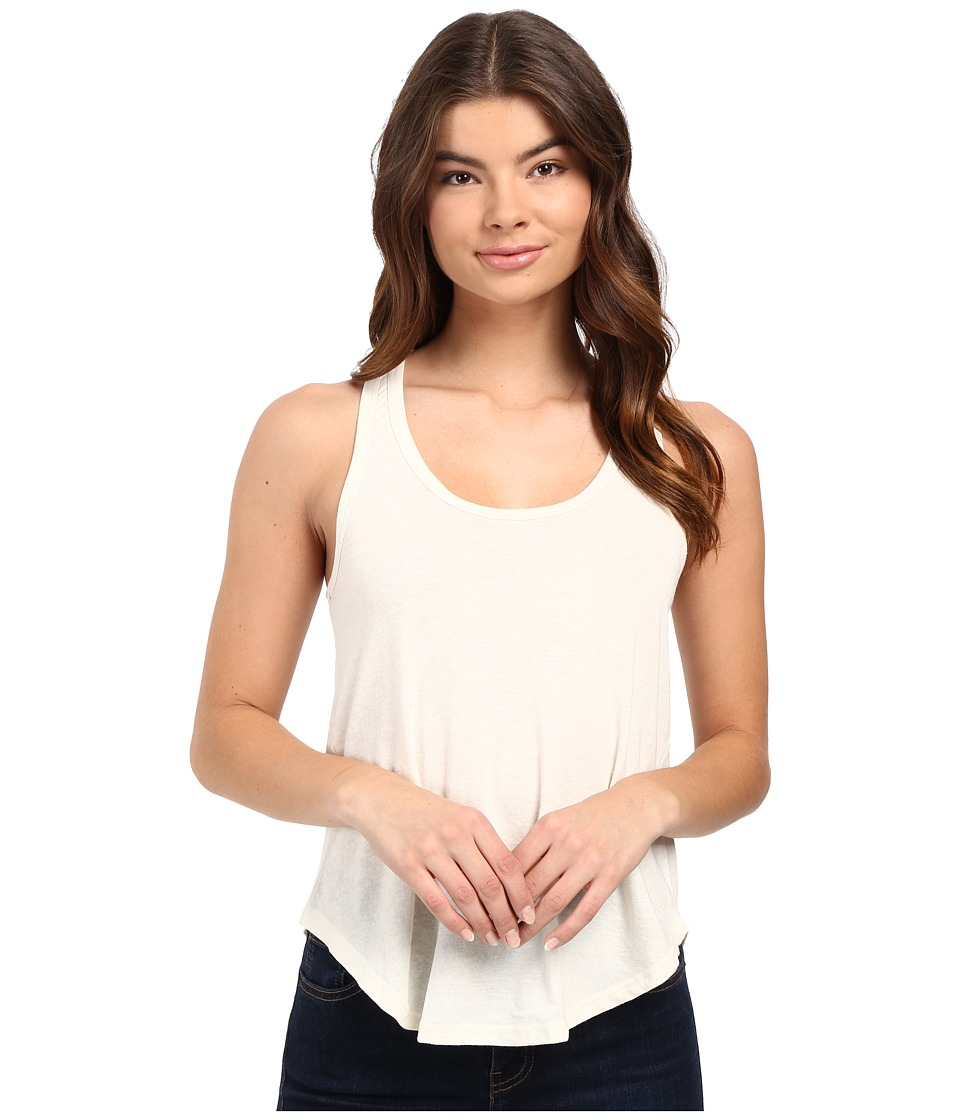Volcom - Lived In Snow Tank Top (Vintage White) Women's Sleeveless