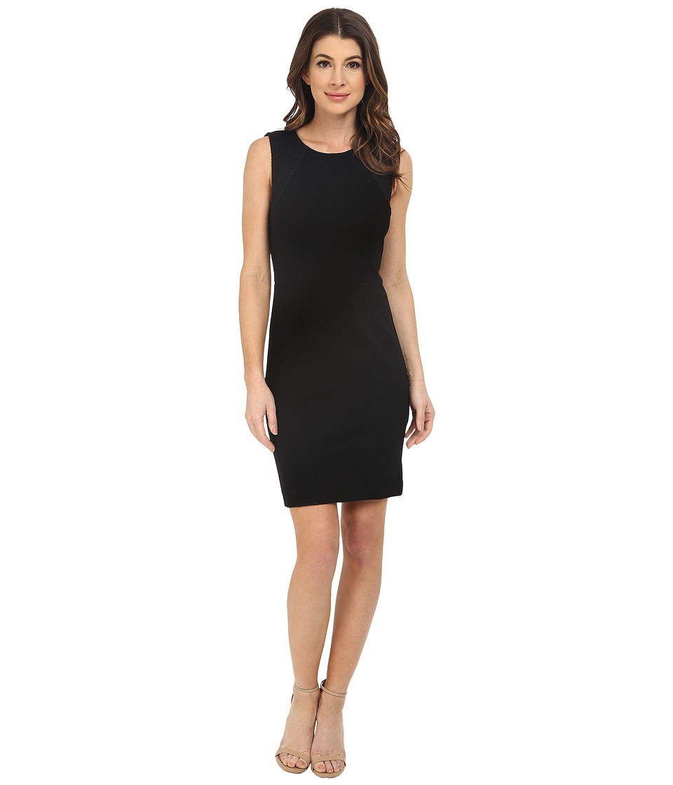 Three Dots Johanna Dress (Black) Women