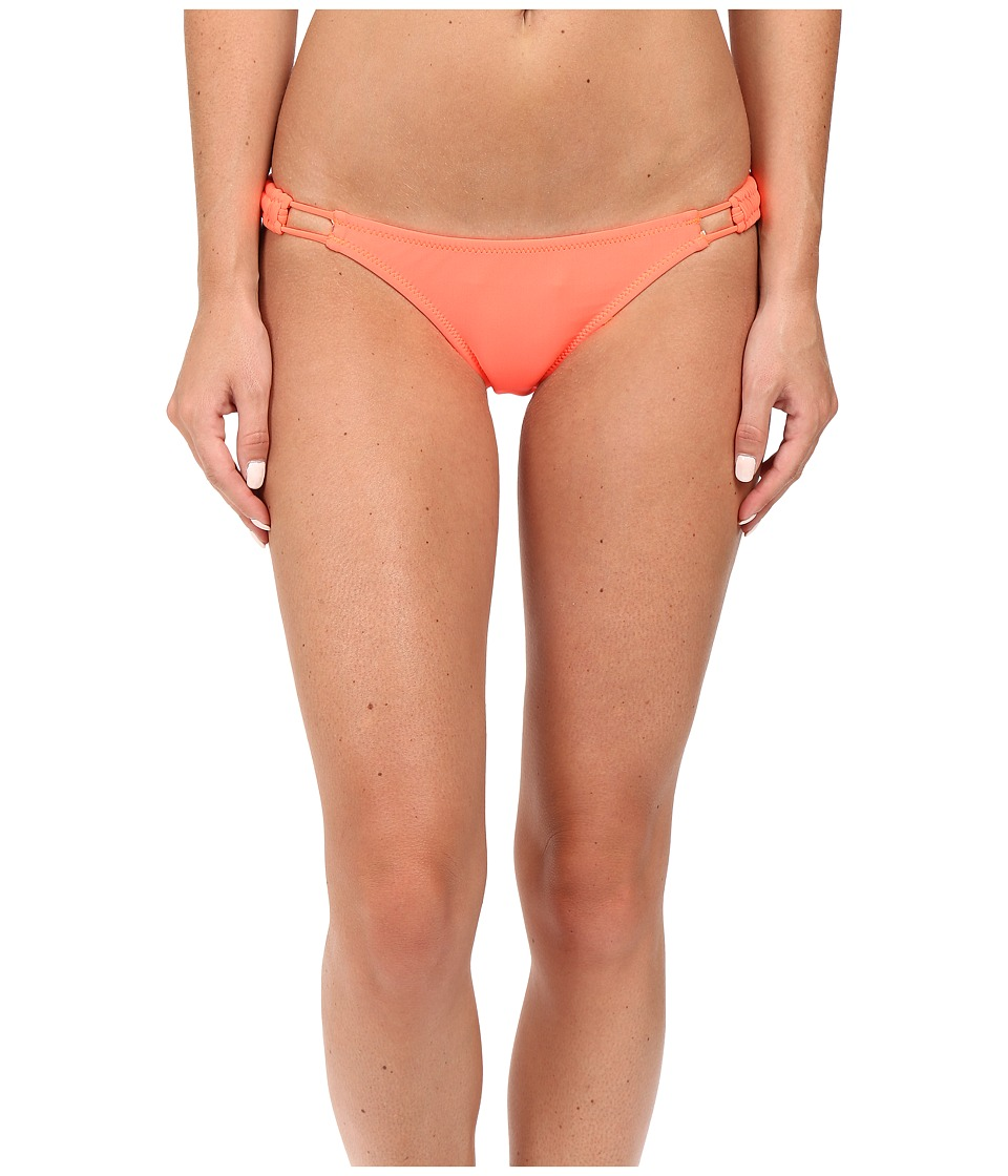 Volcom Simply Solid Full Bottoms (Neon Pink) Women