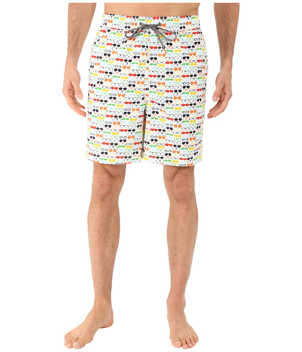 Thomas Dean & Co. - Sunglasses Print Board Short (Multi) Men's Swimwear
