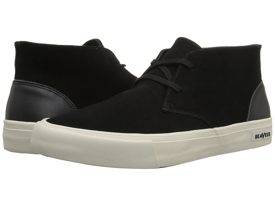 SeaVees - 12/62 Maslon Wintertide (Black) Men's Shoes