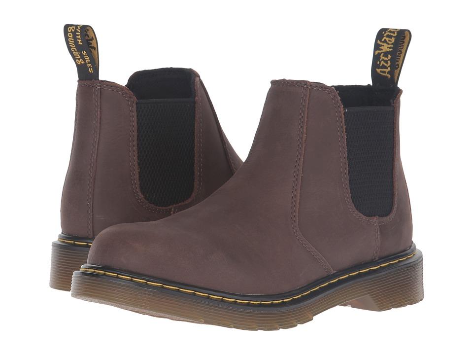 Dr. Martens Kid's Collection - Banzai (Toddler) (Dark Brown) Boys Shoes