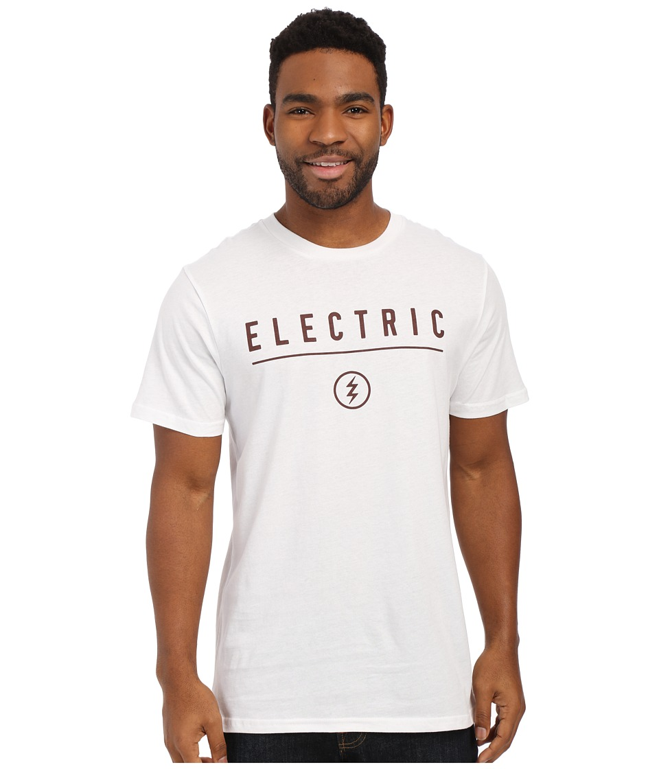 Electric Eyewear - Corp Identity Tee (White 1) Men's Short Sleeve Pullover