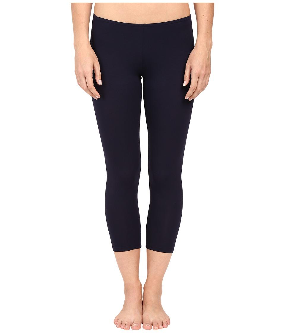 Only Hearts So Fine Crop Leggings (Navy) Women's Casual Pants