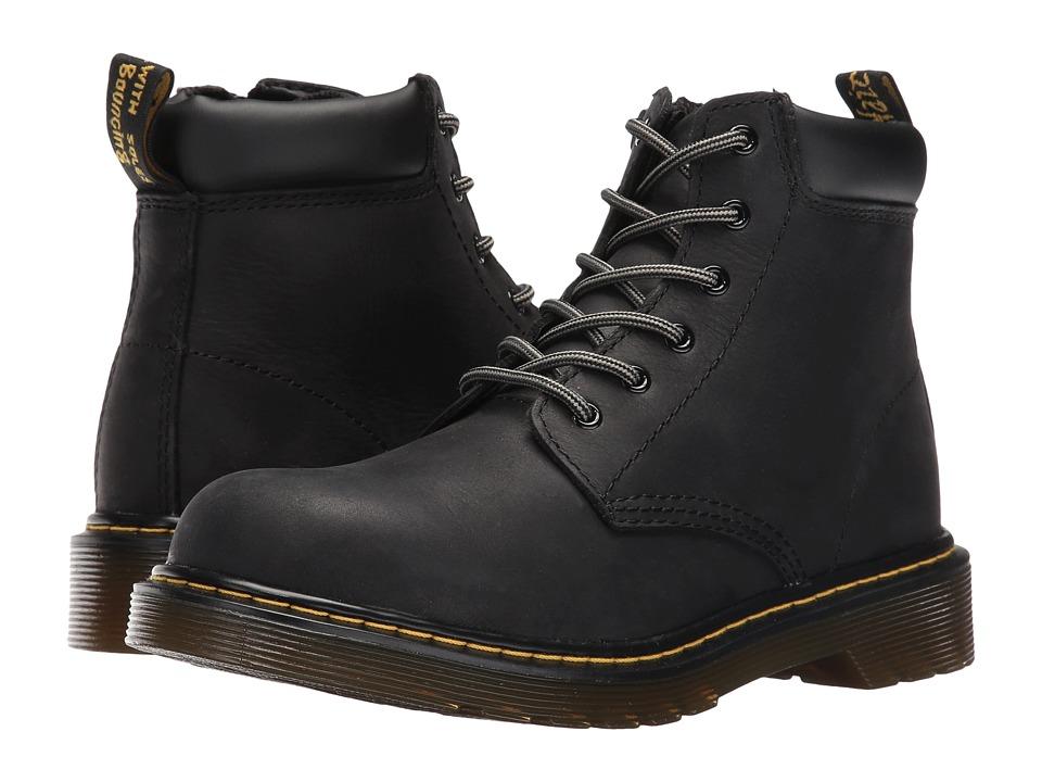 Dr. Martens Kid's Collection - Padley (Big Kid) (Black) Kids Shoes
