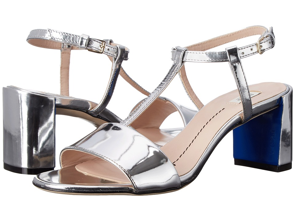 Furla - Wanda Sandal (Silver Mirror) Women's Sandals