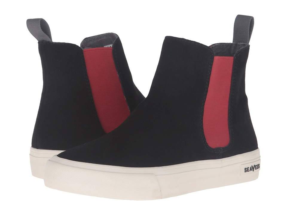 SeaVees 04/67 Laguna Chelsea Boot (Black) Women