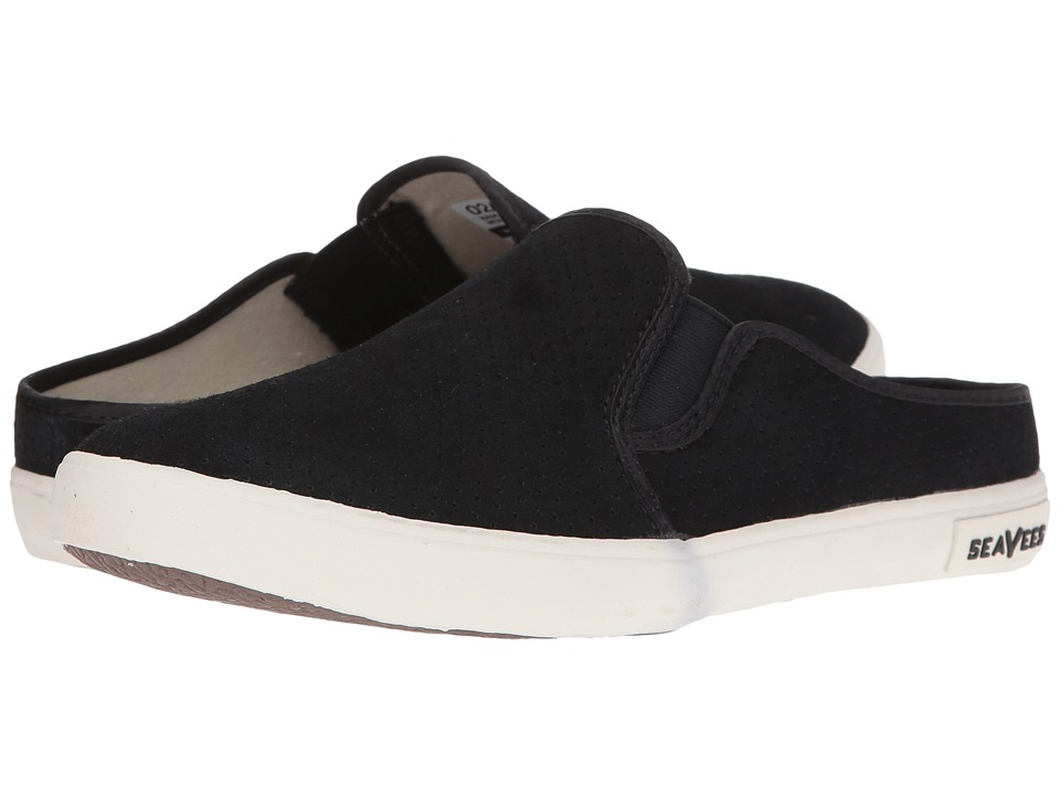 SeaVees - 02/64 Baja Mule Varsity (Black) Women's Shoes