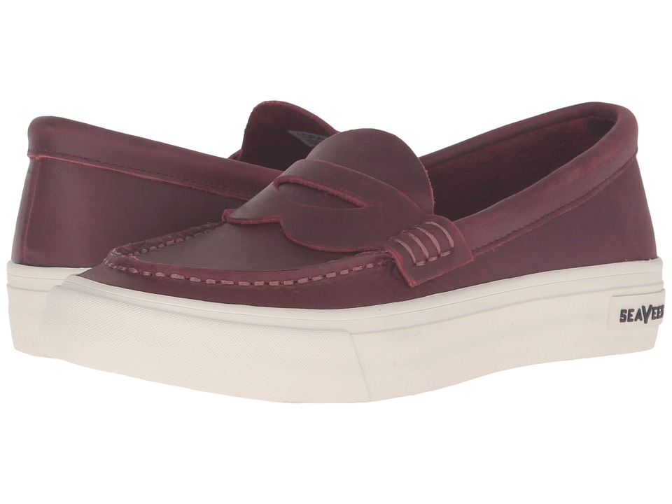 SeaVees - 10/64 Freedom Penny (Deep Cherry) Women's Shoes